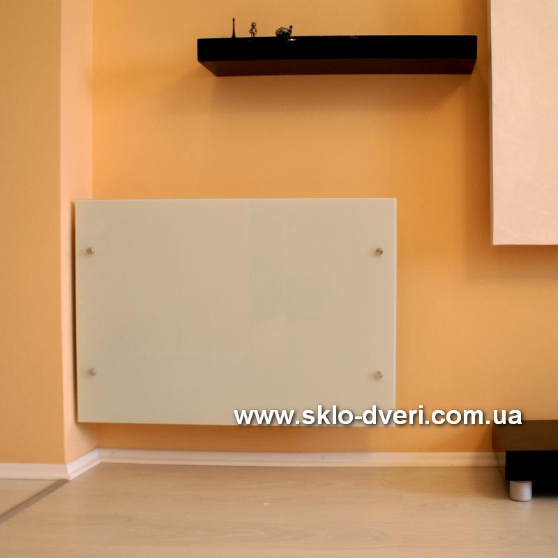 Стеклянные экраны для радиаторов (батарей)