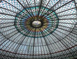 В Санкт-Петербурге восстановили витражный купол площадью 120 кв.м.