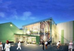 Новое фасадное озеленение здания