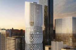 В Австралии появится новое здание с многоуровневым фасадом