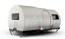 Расширение телескопического жилья-трейлера