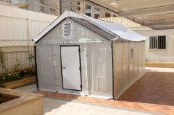 Тестирование сборных домов на безопасность