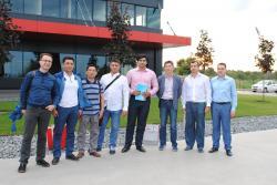 Представители строительной группы из Казахстана посетили компанию Stekloplast