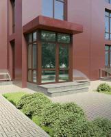 Двери входные и межкомнатные из алюминия.