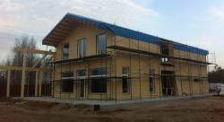 Строительство здания по технологии Energywise House
