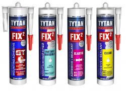 Клея FIX2 –  MS-полимеры нового поколения от TYTAN PROFESSIONAL