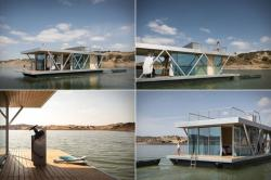 Создание нового плавающего дома для отдыха