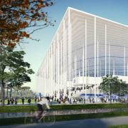 Новый стадион с фантастическим фасадом