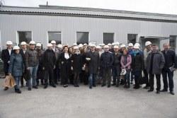 Завод Stekloplast посетили основатели Сообщества Украинских Предпринимателей