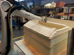 Новый 3D-принтер сможет построить здание за 30 минут