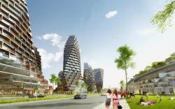 Создание зданий блоковой формы