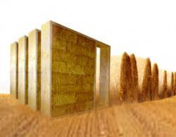Суперэффективная система строений из  соломенных блоков