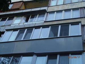 Остекление балкона с выносом недорого
