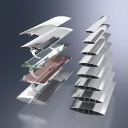 Новые раздвижные алюминиевые ставни