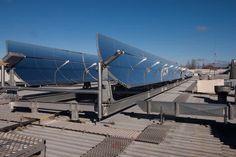 Охлаждение здания с помощью солнечных панелей