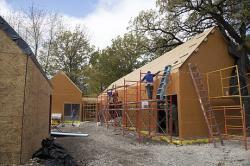 Новый проект здания на солнечных батареях