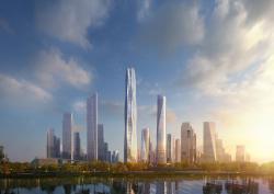 Новый эко-небоскреб в Китае