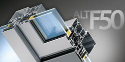 Профильная система ALT F50 - высокий уровень термо- и шумоизоляции, а также простота монтажа