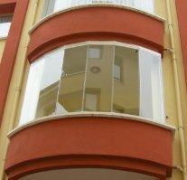 Раздвижные стеклянные окна и двери. Одесса