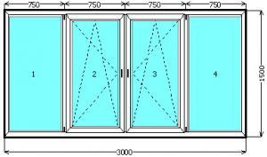 Купить недорого окна на лоджии и балконы Боярка, Тарасовка, Вишнёвый, Петровское