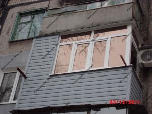Остекление и утепление балконов и лоджий в Днепродзержинске