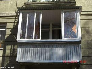 Балконы под ключ  от 9998грн  Козырьки 0677599522