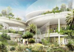Представлен концептуальный проект био-школы с био-куполом
