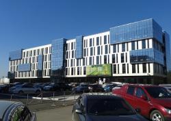 Новое энергоэффективное здание в Сибири