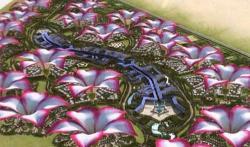Уникальный энергоэффективный город-цветок