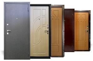 Металлические двери украинского производства.