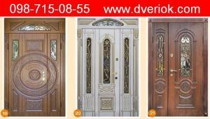 вхідні двері меденичі, вхідні двері термопласт, вхідні двері Львів