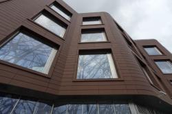 Создание складчатого фасада