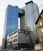 Двойной фасад для городских ворот