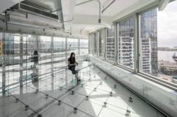 Уникальная реконструкция склада - полностью прозрачное строение