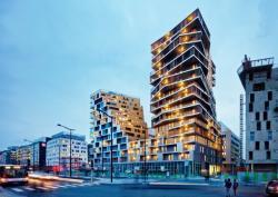 Асимметричное остекление в высотных зданиях