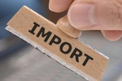Сокращение импорта товаров в РФ
