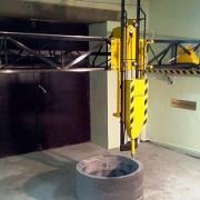 Принтер для 3D печати бетонных блоков