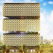 Проект здания для конкурса «Город над городом»