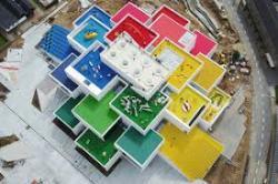 Оригинальное здание в стиле Lego