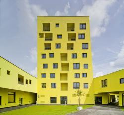 Долгожданный жилой ансамбль с лимонными фасадами