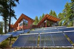 Строительство загородной виллы, полностью обеспеченной солнечной энергией