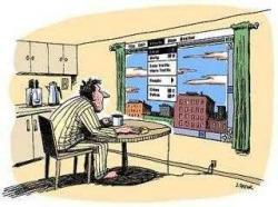 В будущем окна уступят место мониторам
