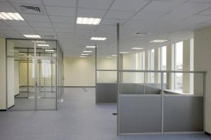 Алюминиевые перегородки в Офис, Банк, Магазин, Салон от производителя по лучшей цене | Фабрика АНКО