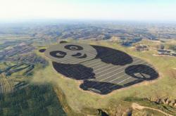 Создание милой солнечной станции в Китае