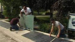 Новый проект - солнечный тротуар