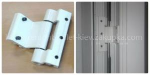 Петли на алюминиевые двери Киев, петли для алюминиевых профилей, петли S-94, дверные петли Киев, пет