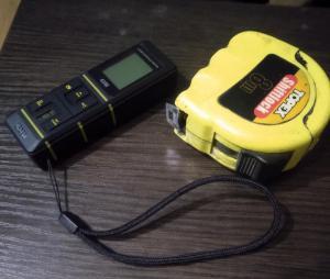 Лазерная рулетка, дальномер