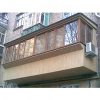 металлопластиковые балконы лоджии под ключ