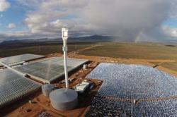 Уникальная солнечная ферма в пустыне