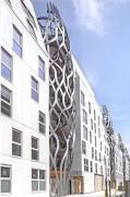 Элегантная простота алюминиевого фасада